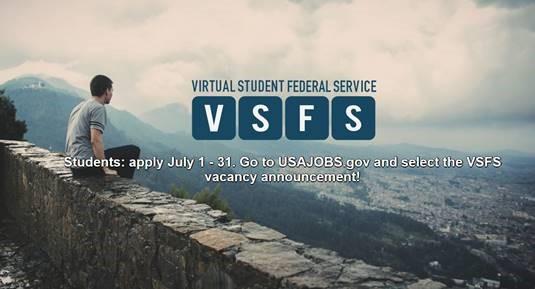 Virtual Student Federal Service (VSFS) Internship Program