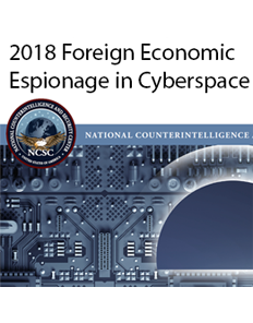 20180724 foreign economic espionage cyberspace