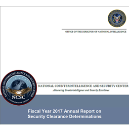 20180827 security clearance determinations