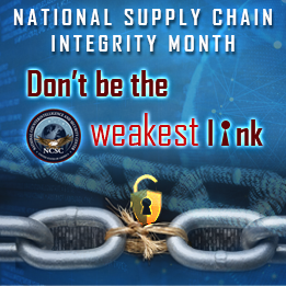 National Supply Chain Integrity Month