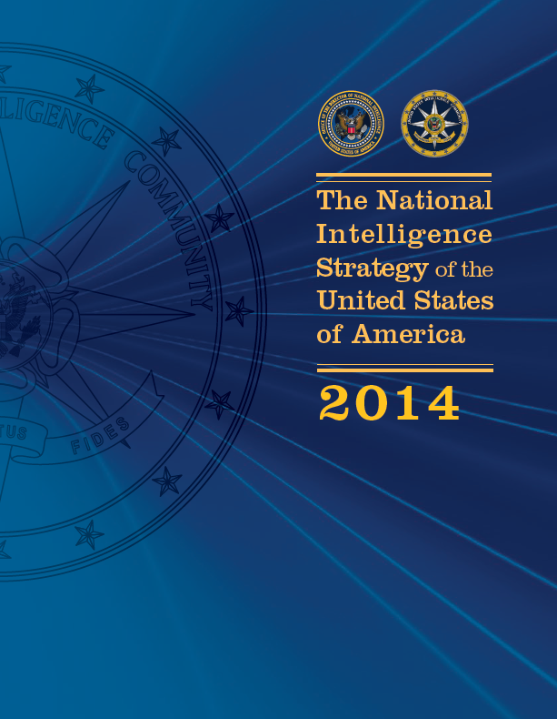 Read the 2014 National Intelligence Strategy