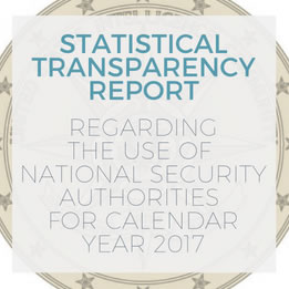 IC Transparency Report for Calendar Year 2016