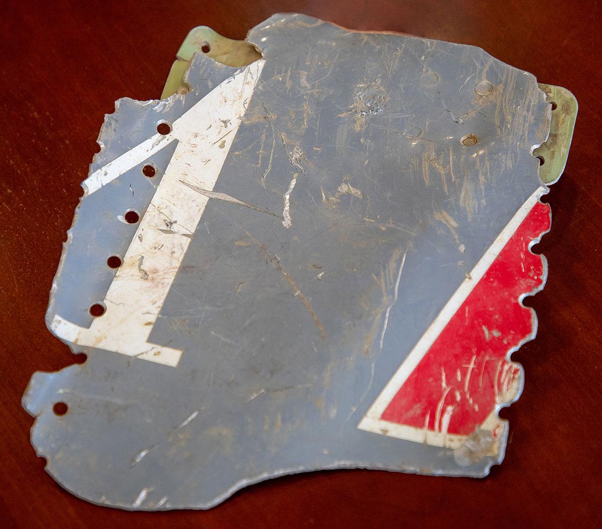 Aircraft fragment 2