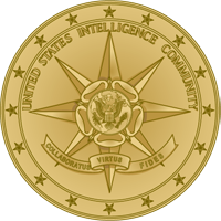 Seal of the US Intelligence Community.