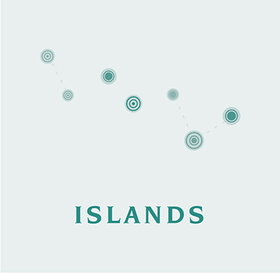 Three Scenarios for the Distant Future: Islands