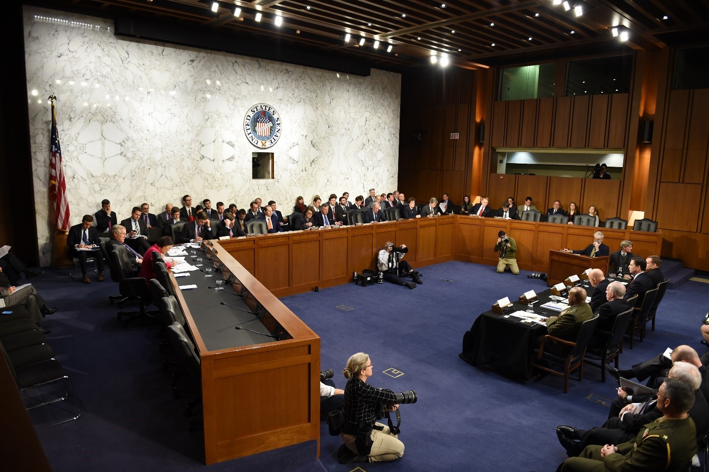 DNI Clapper Appears before the Senate Armed Services Committee