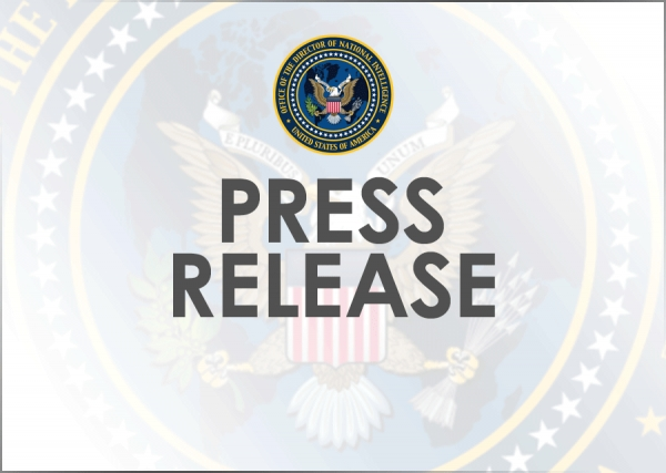 DNI Coats Statement on Departure of NCTC Director Nick Rasmussen