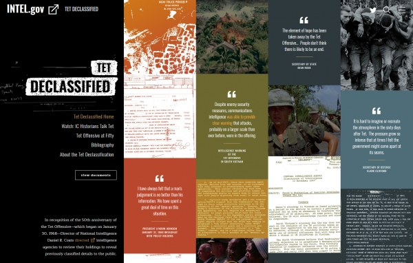 Intelligence Community Releases Newly Declassified Tet Offensive Documents