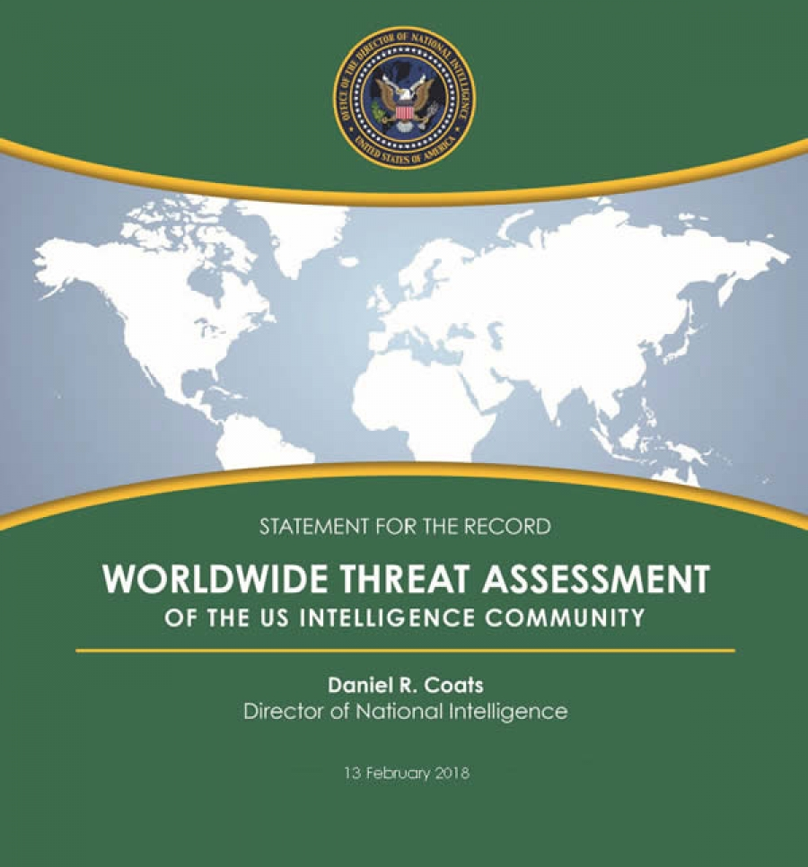 statement for the record  worldwide threat assessment of