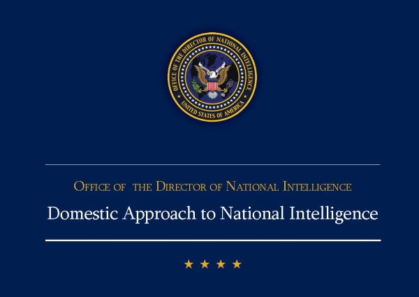 Domestic Approach to National Intelligence