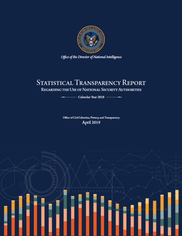ODNI Releases Annual Intelligence Community Transparency Report
