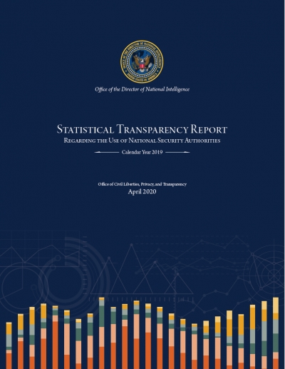 Statistical Transparency Report Regarding National Security Authorities Calendar Year 2019