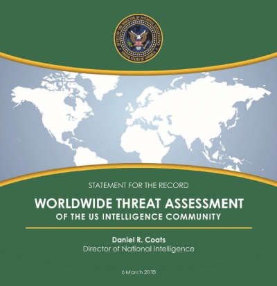Statement for the Record: Worldwide Threat Assessment of the US Intelligence Community
