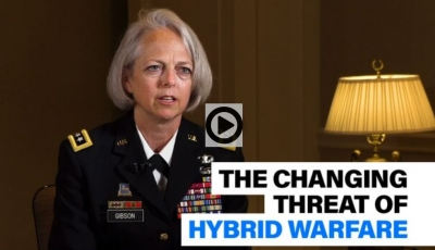 What role does intelligence play in combating hybrid warfare?