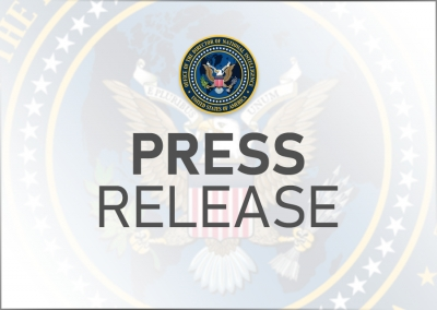 DNI Haines Statement on U.S. Senate Confirmation of William Burns as CIA Director