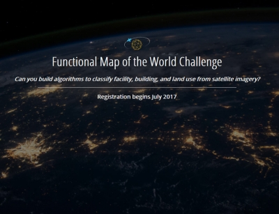 IARPA Announces Functional Map of the World Challenge  To Develop Automated Analysis of Satellite Imagery