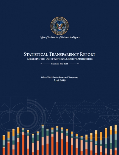 Statistical Transparency Report Regarding National Security Authorities Calendar Year 2018